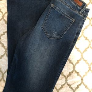 Just USA Jeans. Flare leg